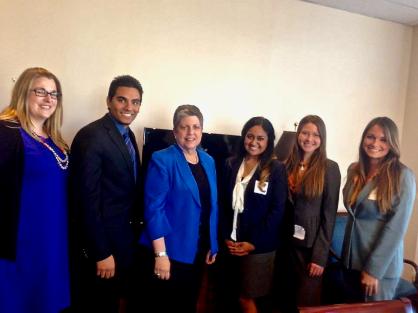 Lobbying UC President Janet Napolitano