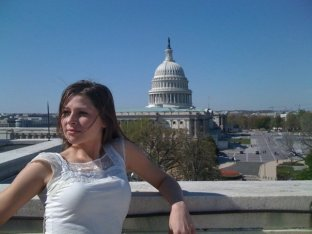 Climbed out of the Longworth building window to get this shot!